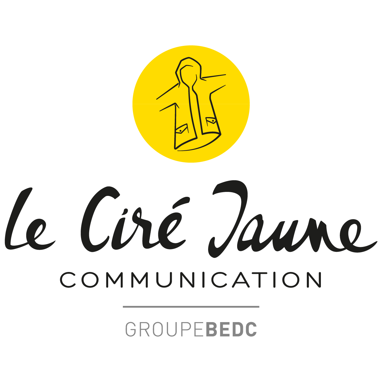 Logo de l'agence de communication Le Ciré jaune Communication